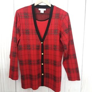 Cathy Daniels Cardigan with Attached Tank